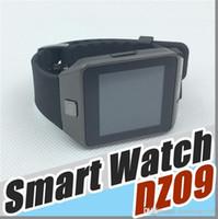 b mobile android großhandel-20X No.1 Kind DZ09 Smart Uhr GT08 U8 A1 Wrisbrand Android iPhone iwatch Uhren SIM Intelligente Handy Uhr Smartwatch B-BS