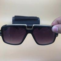 schwarze quadratische brillengläser großhandel-Schwarze Sonnenbrille-Frauenmänner quadratische Rahmenbrillen Spitzenqualität Luxus eyewears Mode-Marken-polarisierte Gläser berühmte Sonnenbrille 883
