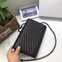 Wholesale handbags online online - Fashion Designer Brand Bags Classic Caviar Women Handbags Calfskin Leather bag Luxury Handbag Good Quality Women Purses Online c237