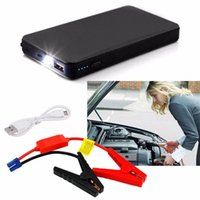 Wholesale jumping starter resale online - New V mAh Mini Portable Multifunctional Car Jump Starter Power Battery Charger Emergency Start Charger Colorful