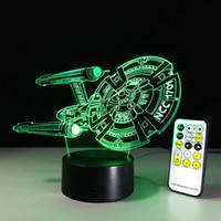 Wholesale Night Knight - Cartoon 3D LED USB RGB Lamp 7 Color Changing Black Knight Lampada Table Night Light Boy Decor Gifts Lava Blubing#ly1