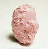 ingrosso muffa del fiore del silicone diy-Muffa del Faerie del fiore Muffa del sapone del silicone di arte del mestiere Muffa del mestiere DIY muffe Handmade del sapone