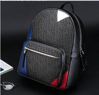 Wholesale pu backpacks - Europe Designer Brand N41612 Damier Cobal Mens Backpacks High Quality School bag