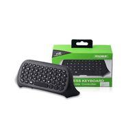 xbox one video games venda por atacado-Mensageiro jogo sem fio bluetooth chatpad teclado teclado de texto pad para microsoft xbox one xboxone jogos de vídeo controlador