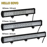 Wholesale 28 led light bar - HELLO EOVO 5D 20 22 28 Inch LED Light Bar LED Bar Work Light for Driving Offroad Car Tractor Truck 4x4 SUV ATV 12V 24V