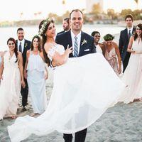 Wholesale romantic off shoulder wedding dresses for sale - Romantic Boho Beach Wedding Dresses Off the Shoulder Cap Sleeves Bohemian Cheap Bridal Gowns Plus Size Wedding Party Wear