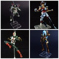 Wholesale action figures based resale online - Saint Seiya Action Figure Support Type Model Soul Stand Bracket Base for STAGE ACT suit for figma SHF robot MMA559