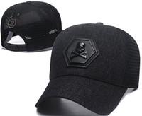 c922da27fbfb5 El más nuevo diseñador PP Skull Caps Casquettes De la gorra de béisbol  Gorras Marca de moda Sombreros del béisbol Carreras Sombreros Gorros  Sombrero de ...