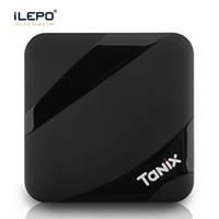 Wholesale TV Box Android Tanix TX3 MAX GB GB Amlogic S905W Smart TV Box P Youtube Netflix HBO movie play K ultra smart tv streaming boxes