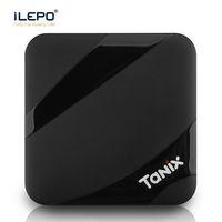 tam youtube toptan satış-TV Kutusu Android 7.1 Tanix TX3 MAX 2 GB 16 GB Amlogic S905W Akıllı TV Kutusu 1080 P Youtube Netflix HBO film oyna 4 K ultra akıllı tv akış kutuları