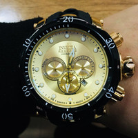 Wholesale usa pins - USA Brazil Hot Products High Quality AAA Outdoor Mountaineer Calendar Men's Quartz Watch Silicone Strap INVICTA Large Dial DZ7333