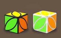 пазлы бесплатно веселья оптовых-Форма гладкая Руби куб головоломка забавная игрушка дети волшебный куб игрушка интеллект развитие обучения развивающие игрушки Оптовая бесплатная доставка