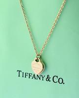 pendentif en argent sterling 925 en forme de mode achat en gros de-Haute qualité design de célébrité lettre 925 collier de trèfle en argent