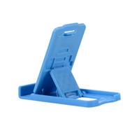 katlanır akıllı telefon toptan satış-Yuntohe Masaüstü Telefon Standı Katlanır Cep Telefonu Standı Telefon Desteği Xiaomi Mi 5a SmartPhone Tablet için Genel Standı