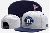 Wholesale hats cap swag - 2018 Swag brand Cayler Sons brown Leather Snapback hip hop sport cap baseball hat for men women bones snapbacks bone gorras high quality
