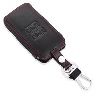 Wholesale renault leather - Car Leather Remote Key Case Cover Keychain Key Protective Shell For Renault 2016 Kadjar