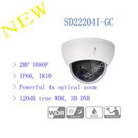dahua hd großhandel-Freies Verschiffen DAHUA 2016 Überwachungskamera CCTV 2MP VOLLE HD 4x PTZ HDCVI Kamera IP66 IK10 ohne Logo SD22204I-GC