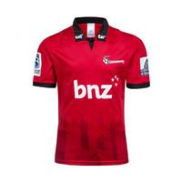 camisa grande xxl al por mayor-tamaño grande 4xl 5xl! Nueva Zelanda Super Rugby Jersey 2019 Crusaders en casa camiseta de Rugby Jerseys