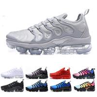 menthes sportives achat en gros de-nike Vapormax TN Plus RAINBOW Chaussures de course pour Homme Femmes triple black Mint Blanc Betrue Sneakers Mode Athlétisme Sport Hommes Chaussures de Plein Air