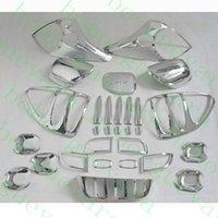 faros de toyota al por mayor-29pcs / lot Car Trim Head luz trasera antiniebla Mirror Handle para Toyota Prado Fj120 2003-2009 diy