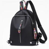 Cheap 2018 fashion women casual nylon backpack brand girl handbag backpacks  school bags Crossbody bag outdoor travel Climbing High capacity af95d268b7
