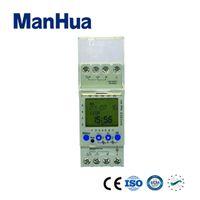 relé de temporizadores al por mayor-Pantalla LCD Manhua 220 VCA 2 canales 7 días Ciclo multifuncional Digital Mini temporizador Interruptor de control de relé AHC822 (MT822)
