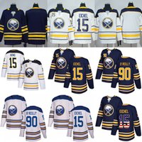Wholesale Black Jack Player - White 2018 Winter Classic Buffalo Sabres 15 Jack Eichel Jersey 90 Ryan O'Reilly blank navy blue Authentic Player Jersey