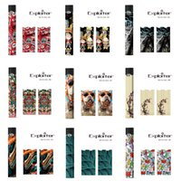 vape sarar toptan satış-Skins Sarar Sticker Kılıfları Kapak Juul Pil Kiti E çiğ Vape Kalem Mod Koruyucu Film Sıcak Çıkartmalar