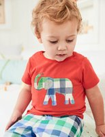 Wholesale wholesale american baby boy clothes - Baby Boys Clothes Summer T shirts+Shorts 2018 Designer Children Clothing Sets with Animals Patterns Kids Clothing Sets