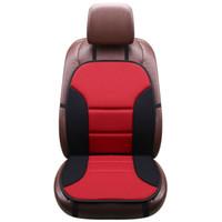 красные чехлы для сидений оптовых-Пять цвет красный бежевый синий черный серый мягкий переднее сиденье автомобиля чехол с задней один кусок