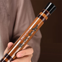 Wholesale dizi d for sale - ZWB008 Professional Dizi Flute Chinese Traditional Handmade C D E F G Key Chinese Bamboo Flute