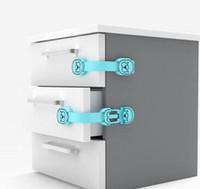 cerraduras del refrigerador al por mayor-Tiger Seal Cabinet Locks Child Safety, Baby Proofing Drawer Fridge Horno Puertas de inodoro y electrodomésticos
