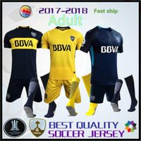 Wholesale Cars 18 - AAA+ 2017 2018 Brazil club Boca Juniors Soccer Jersey Home Away 3RD GAGO OSVALDO CAR 17 18 LITOS PEREZ P Football shirts KIT