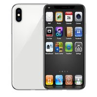 Wholesale micro gsm for sale - 6 inch Android phone XS MAX G G WCDMA smartphone Face ID Quad Core MTK6580 Wireless Charging GSM sealed box