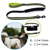Wholesale small cars safety online - 4Colors Adjustable Pet Dog Reflective Car Safety Seat Belt Nylon Puppy Seat Lead Leash Harness Vehicle Seatbelt AAA866