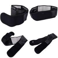 ingrosso sicurezza della cintura posteriore-Cintura di sicurezza sportiva Doppia trazione Deluxe Lombare magnetico Cintura di sostegno inferiore inferiore Fascia traspirante S-XL V2