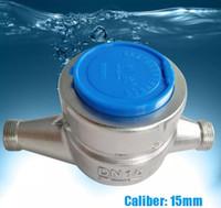 Wholesale water tiles - 15-80mm Diameter Stainless Steel Rotator Wet Type Cooling Water Meter A level Heavy-Caliber Ordinary Water Gauge LLFA