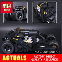 Wholesale children classic movies - New Lepin 07060 1969Pcs Classic Movie Series Building Blocks Bricks for Education Toys Model 7111 to Children