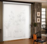 Wholesale roller shade fabrics for sale - Group buy home decorative triple shade shangri la polyester blind