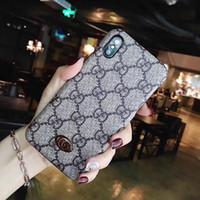 kadınlar için iphone cüzdan toptan satış-Sıcak yeni Avrupa ve Amerikan markalar kadınlar telefon cüzdan kılıf moda telefon kılıfı için iphone x 6 7 8 artı iphone kılıfları ücr ...