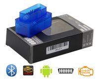 ingrosso annunci autos-scanner diagnostico per auto automotivo escaner automotriz Mini V2.1 ELM327 OBD2 ELM 327 Bluetooth interfaccia auto scanner auto