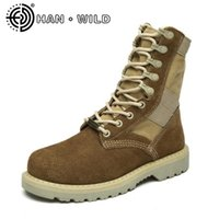 Wholesale leather motorcycle boots for men resale online - Hot Sale Boots Cow Suede Motorcycle Boots Men Vintage Casual Shoes Brand Design Ankle For Men Outdoor Tooling