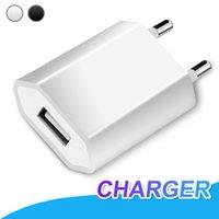 max ac großhandel-Für iPhone X XR XS Max 5 V 1A EU-Stecker USB-Ladegerät AC-Netzteil Ladegerät für iPhone 7 8 Plus Samsung S8 S9 Hinweis 9