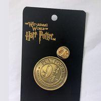 kostüm takıları toptan satış-Harri Potter Anahtarlık Cosplay Platformu 9 3/4 King's Cross Londra Kostümleri Anahtarlık Kolye Anahtarlık Takı Fan Koleksiyonu Sahne