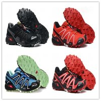 Wholesale high speed cycles - Wholesale 2017 High Quality Zapatillas Speedcross 3 Running Shoes Men Walking Outdoor Sport Speed cross 3 Jogging Shoes Sneaker Size 40-46