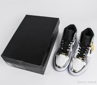Wholesale god air - 2018 high top sneaker Air AJ1 Pass The Torch basketball shoes sneakers athletic shoes off fear god white casual shoes high quality
