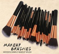 Wholesale hair color kits - MAANGE makeup brushes sets 22pcs cosmetics brush Professional 10 color Eyeshadow Powder Foundation Face Beauty Blusher Make up free DHL