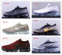 Wholesale rubber full sole - Many colors Air Vapor 2018 mens sports shoes Full Crusion Sole women outdoor running sneaker shoes breathable tennis footwear size 36-45