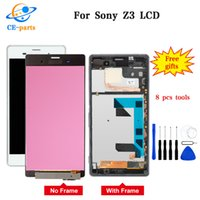 Wholesale lcd sony z3 for sale - Group buy Made in China For SONY Xperia Z3 LCD Display Touch Screen D6603 Replacement for SONY Xperia Z3 LCD Dual D6633