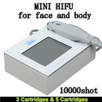 meilleure machine à rides achat en gros de-Élimination focalisée de la meilleure machine de levage facial d'ultrason HIFU de catégorie médicale HIFU de retrait de ride avec 3 cartouches pour le visage